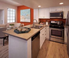 Kitchen, Aliso Town Center Apartment Homes