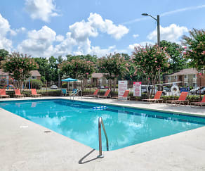 Pool, Ridgewood Apartments