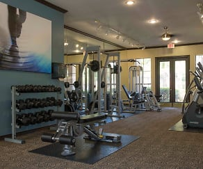 Fitness Weight Room, Gables Turtle Creek City Place