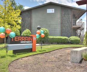 Community Signage, Terrain