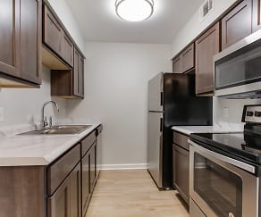 Kitchen, The Mayfair Apartment Homes