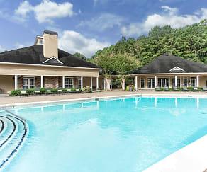 Pool, Preston Creek Apartments