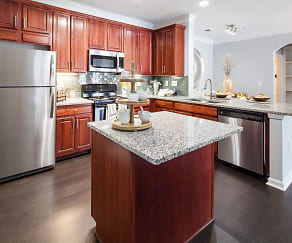 Kitchen, The James at Sugarloaf by Cortland