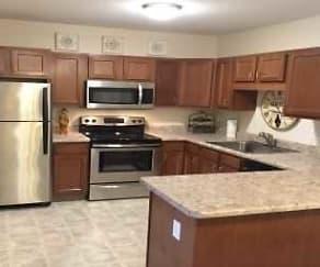Kitchen, Eden Park Senior Apartments