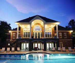 Pool, Campus Creek Apartments