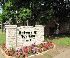 Community Signage, University Terrace Apartments
