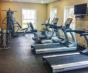Fitness Weight Room, Markwell Village Apartments
