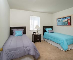 Bedroom, Auburn Pointe Apartments