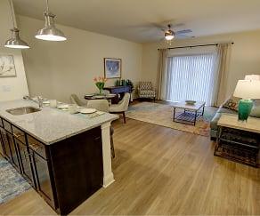 Open floor plans, Carlton Hollow Apartments 55+