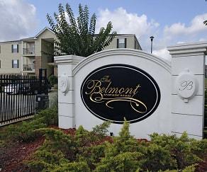 Community Signage, Belmont Apartments