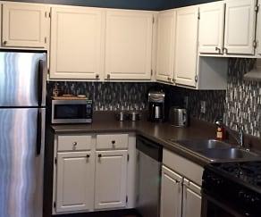 Kitchen, Palisades Apartments