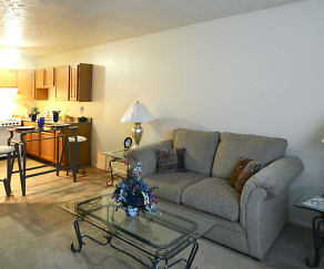 Living Room, Timber Creek Apartments