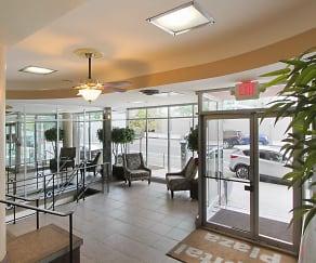 Foyer, Entryway, Capital Plaza Apartments