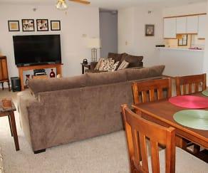 Dining Room, Deer Park Apartments
