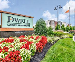 Community Signage, Dwell Luxury Apartments