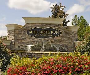 Community Signage, Mill Creek Run Apartment Homes