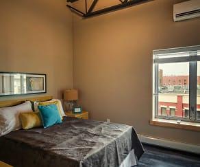 Bedroom, Lofts 23 Apartments