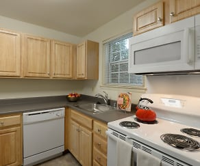 Kitchen, Seven Oaks Townhomes