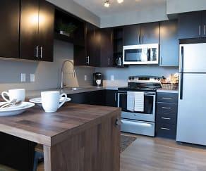 Kitchen, Benson Lights Apartments