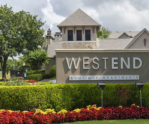 Community Signage, West End Apartments