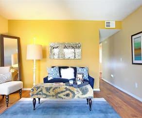 Living Room, Tesoro Apartments