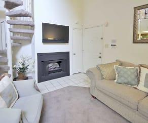 Living Room, Riverview Villa