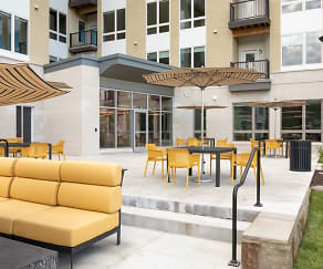 Patio / Deck, 50 Front Luxury Apartments