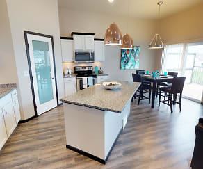 Kitchen, Diamond Creek Town Homes and Twin Homes