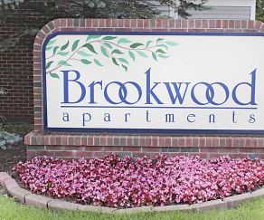 Community Signage, Brookwood Apartments