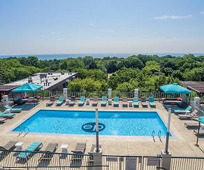 Pool, Evanston Place Apartments
