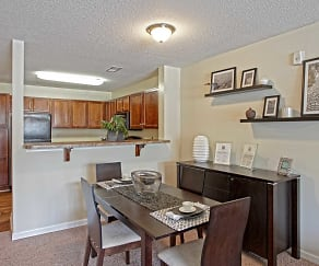 Dining Room, Stone Ridge Apartments