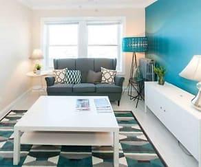 Living Room, 1246 W. Pratt