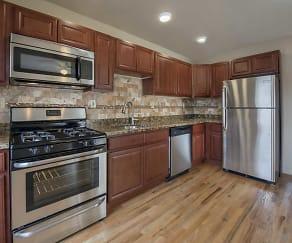 Kitchen, Franklin Manor Apartments