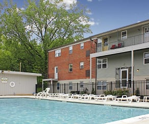 Pool, The Courtyards at Bensalem