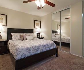 Bedroom, Valley Village Apartments