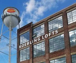 Community Signage, Roebling Lofts