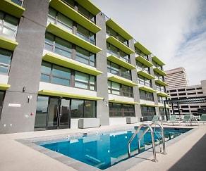 Pool, 3rd Street Flats