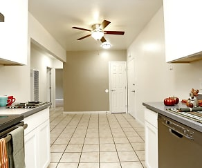 Kitchen, Redwood Valley Apartment Homes