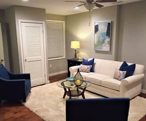 Living Room, RiverOaks - Luxury Furnished - Corporate Housing