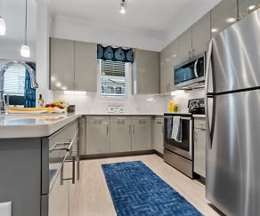 Kitchen, The Mansions at Mercer Crossing