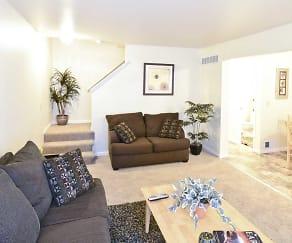 Living Room, Heritage Glen Townhomes