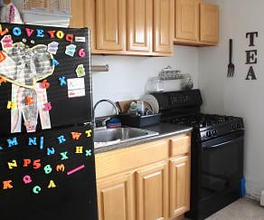 Kitchen, Magnolia Park Apartments