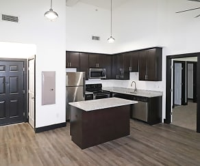Kitchen, P & P Mill Apartments