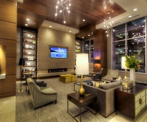 24-Hour Staffed Lobby, One Light Luxury Apartments