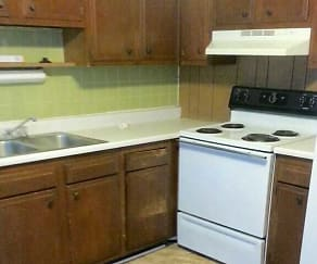 Kitchen, Mayberry Apartments