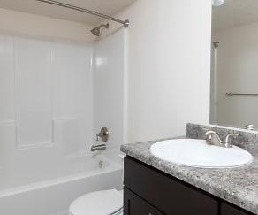 Bathroom, Scotsdale Apartments
