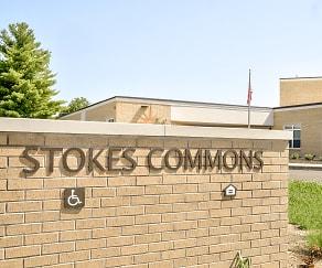 Community Signage, Stokes Commons