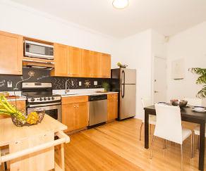 Kitchen, Hamilton Court Apartment