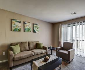 Living Room, Walnut Glen Apartments