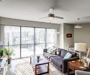 Living Room, Ingersoll Square Lofts